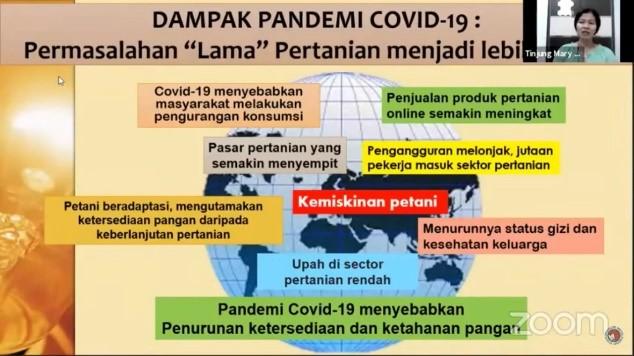"""AGRIDEBAT DAN WEBINAR PERTANIAN """"Ketersediaan Pangan Di Masa Pandemi Covid-19"""""""